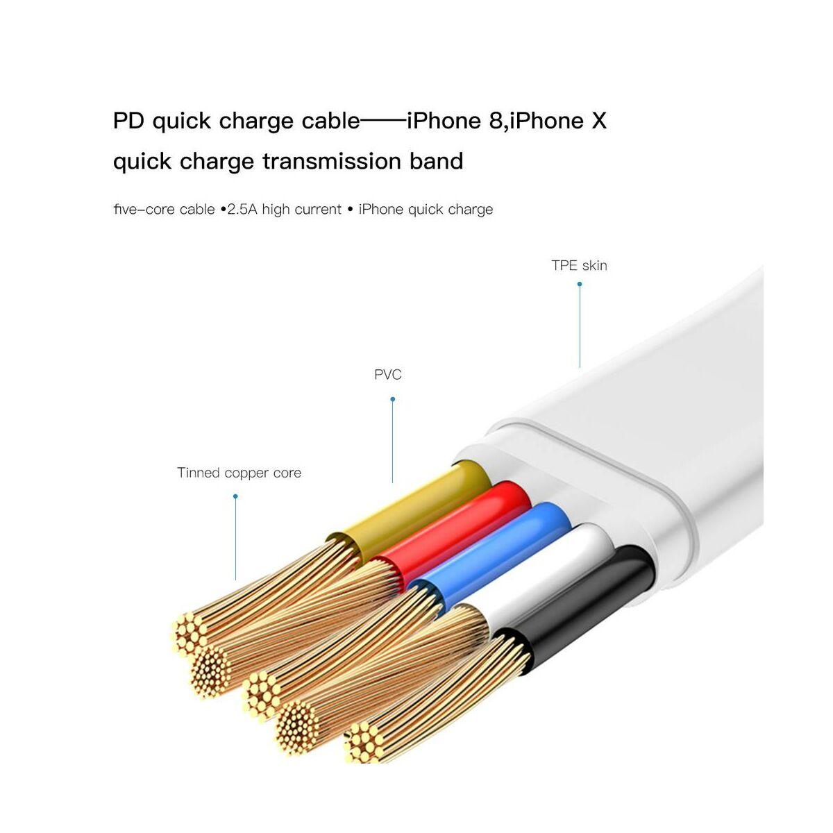 Baseus hálózati töltő, Bojure series Type-C PD + U gyors töltés 32W, 3A, fehér (TZTUN-BJ02)