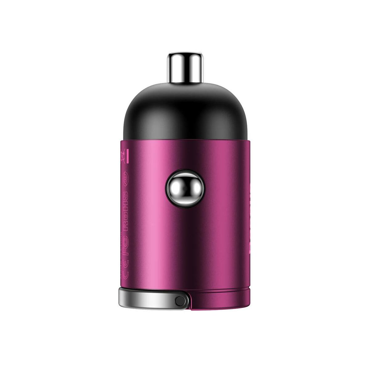 Baseus autós töltő, Tiny Star Mini PPS Type-C csatlakozóval, 30W, rózsaszín (VCHX-B04)
