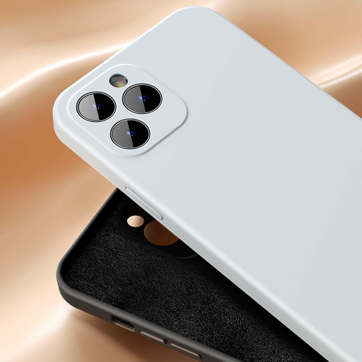 Baseus iPhone 12 mini tok, Liquid Sicila Gel, menta zöld (WIAPIPH54N-YT6B)