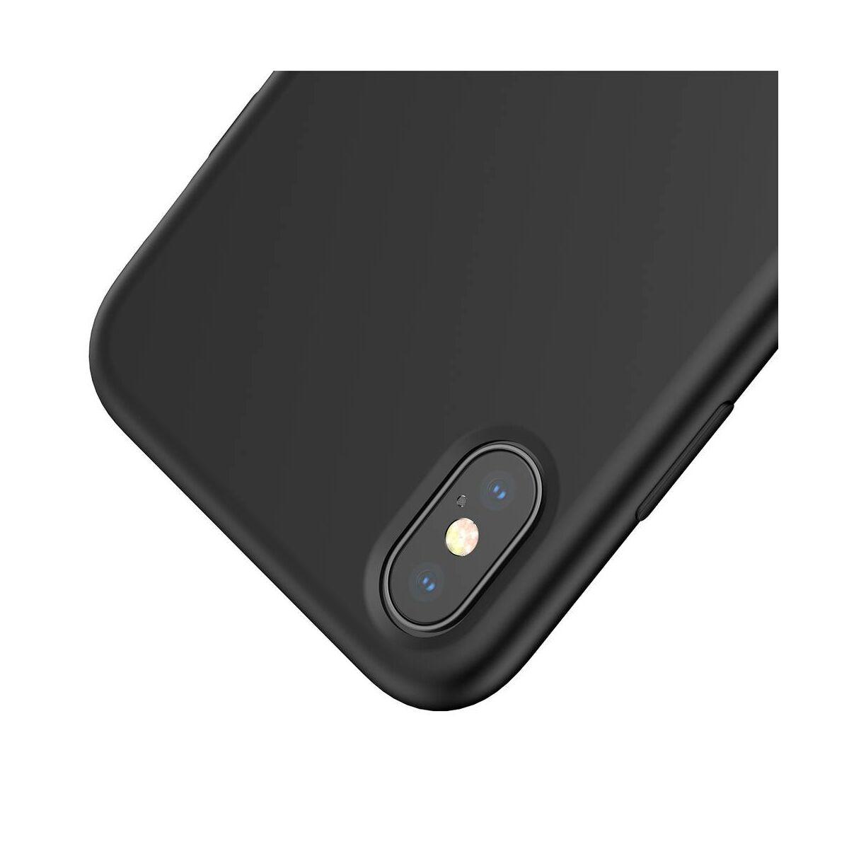 Baseus iPhone XS tok, Original LSR, fekete (WIAPIPH58-ASL01)
