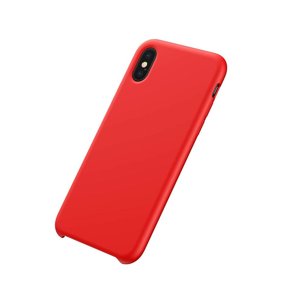 Baseus iPhone XS tok, Original LSR, piros (WIAPIPH58-ASL09)