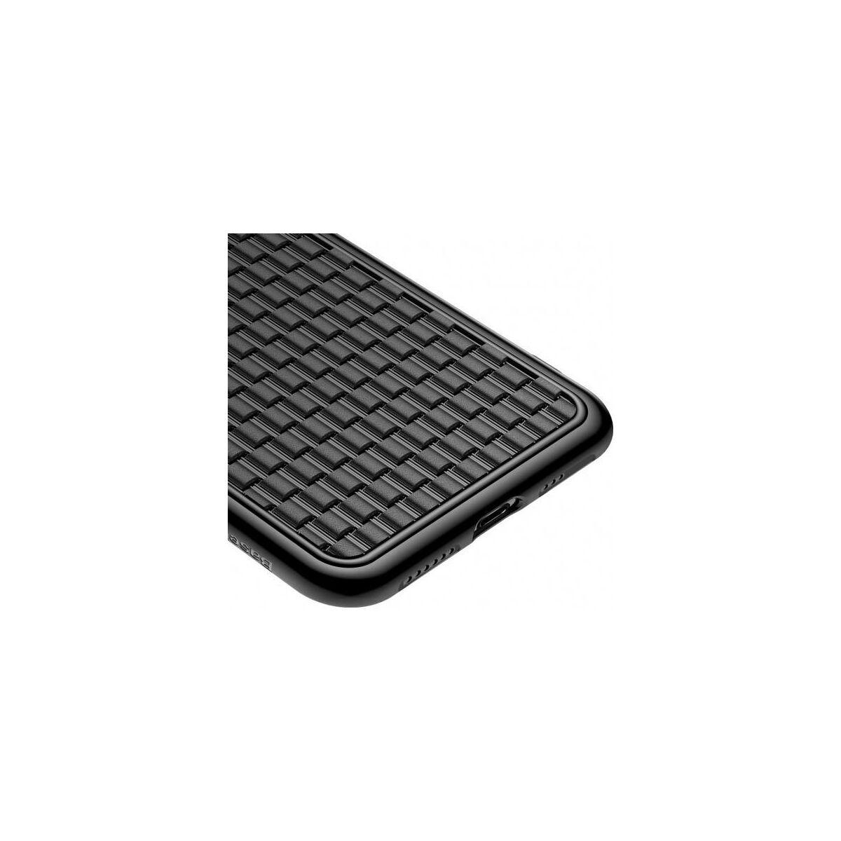 Baseus iPhone XS tok, BV, 2.generációs, fekete (WIAPIPH58-BV01)
