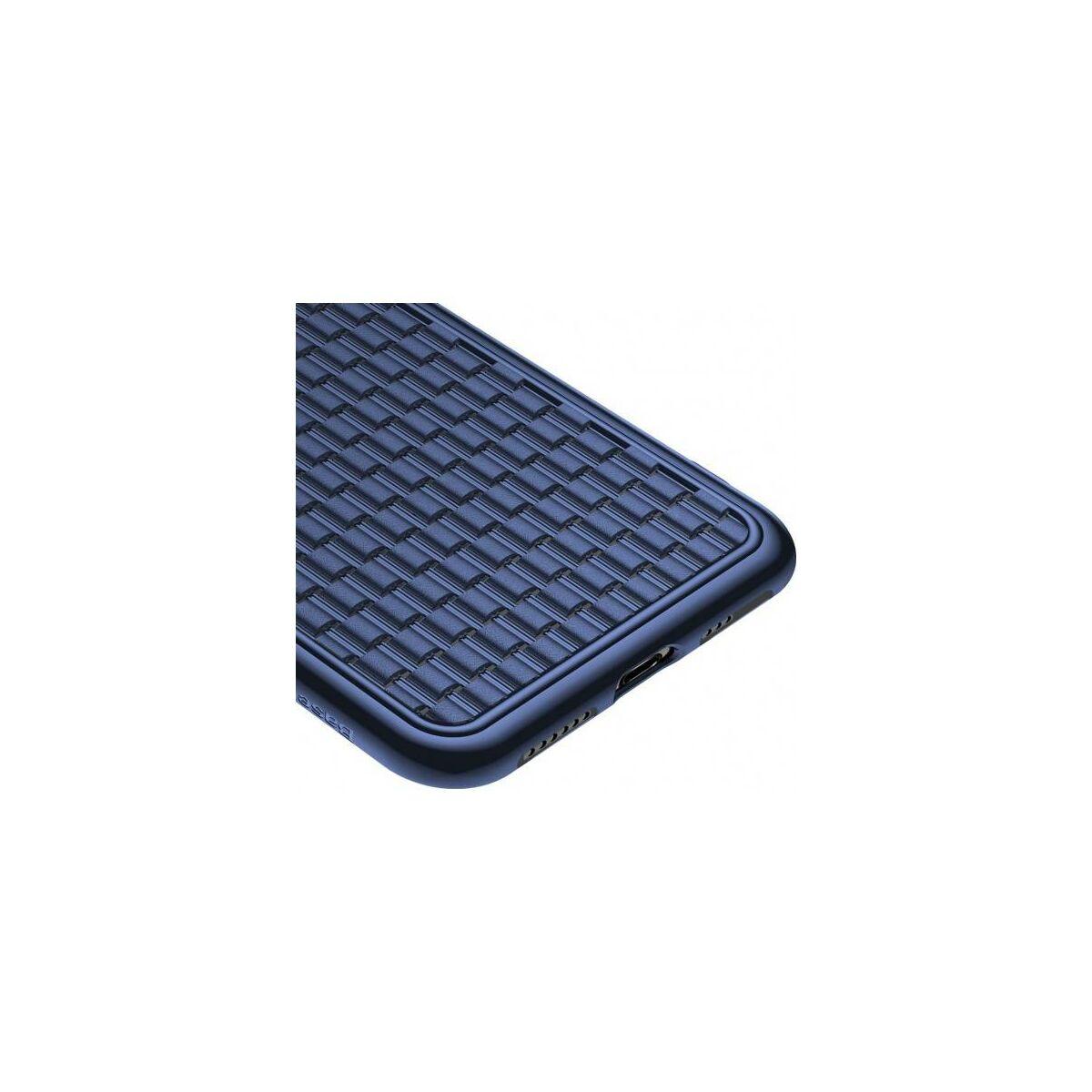 Baseus iPhone XS tok, BV, 2.generációs, kék (WIAPIPH58-BV03)