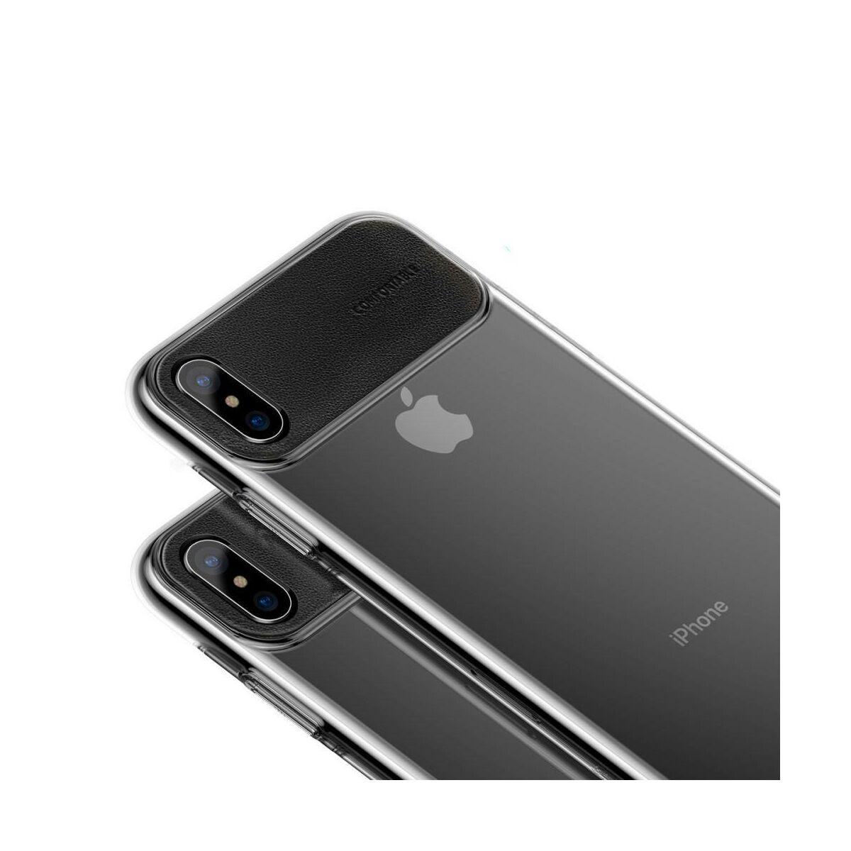 Baseus iPhone XS tok, Comfortable, fekete (WIAPIPH58-SS01)