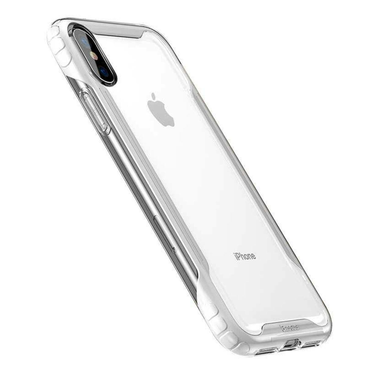 Baseus iPhone XS tok, Armor, fehér (WIAPIPH58-YJ02)