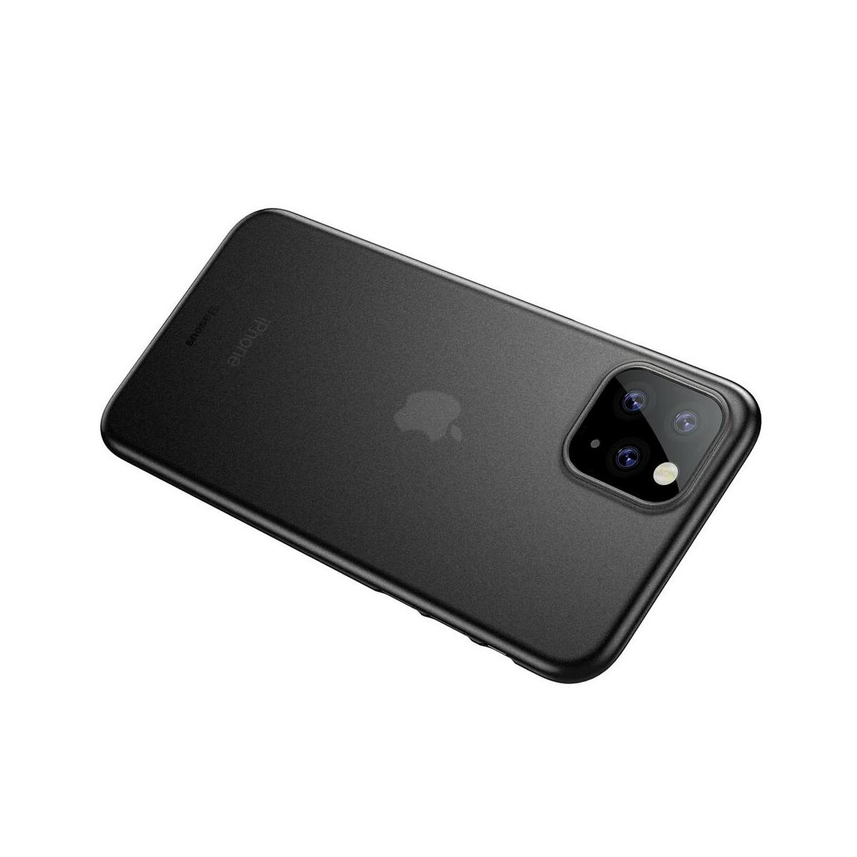 Baseus iPhone 11 Pro tok, Wing, fekete (WIAPIPH58S-01)