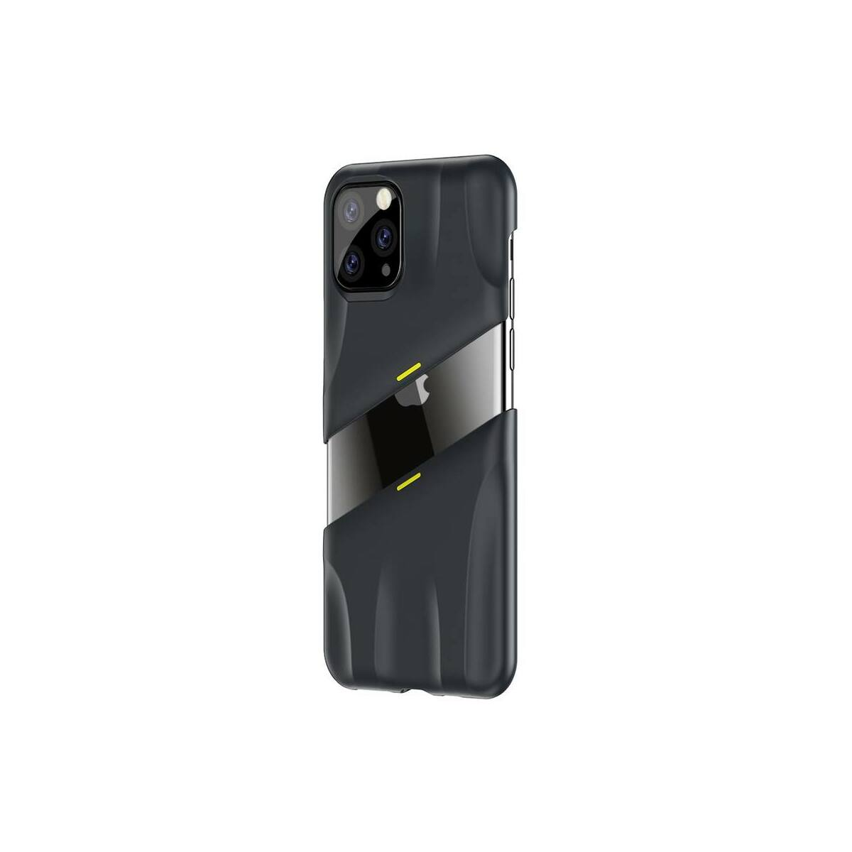 Baseus iPhone 11 Pro tok, Lets go Airflow Cooling, szürke/citrom (WIAPIPH58S-GMGY)