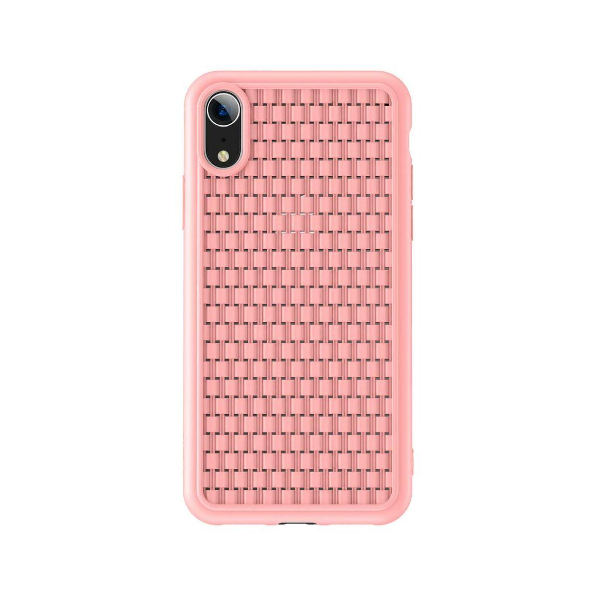 Baseus iPhone XR tok, BV, 2. generációs, rózsaszín (WIAPIPH61-BV04)