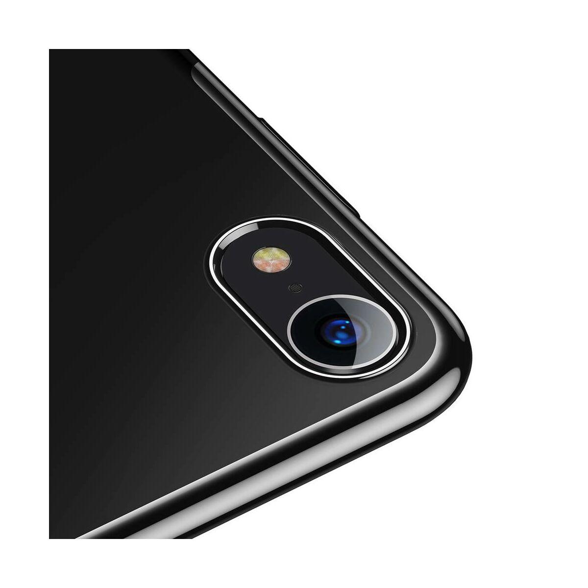 Baseus iPhone XR tok, Glitter, fekete (WIAPIPH61-DW01)