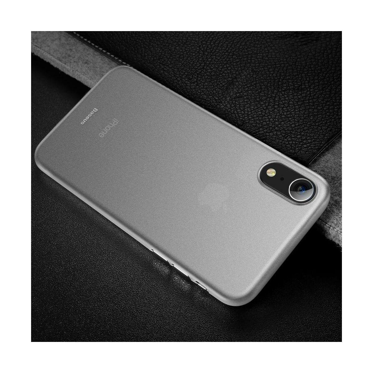 Baseus iPhone XR tok, Wing, fehér (WIAPIPH61-E02)