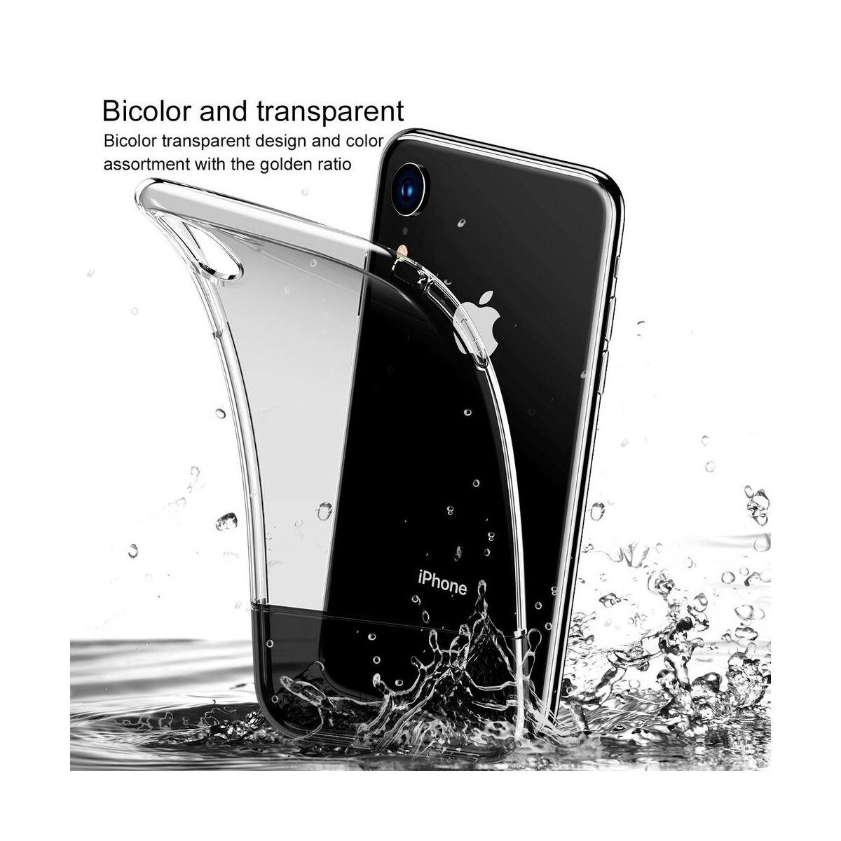 Baseus iPhone XR tok, Half to Half, fekete (WIAPIPH61-RY01)