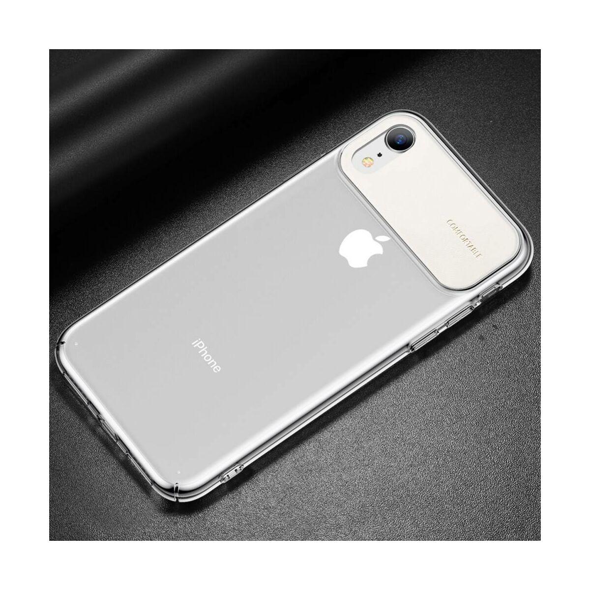 Baseus iPhone XR tok, Comfortable, fehér (WIAPIPH61-SS02)