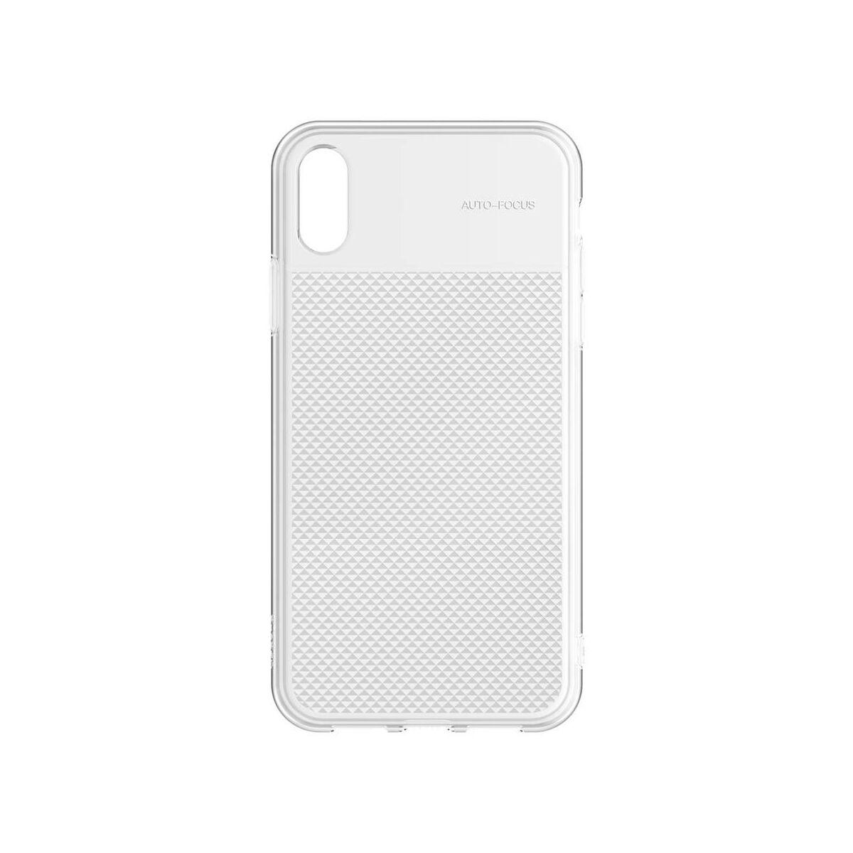 Baseus iPhone XR csillogó & tok, átlátszó, átlátszó (WIAPIPH61-ST02)