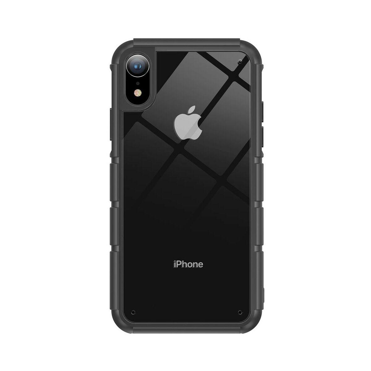 Baseus iPhone XR tok, Panzer, fekete (WIAPIPH61-TK01)