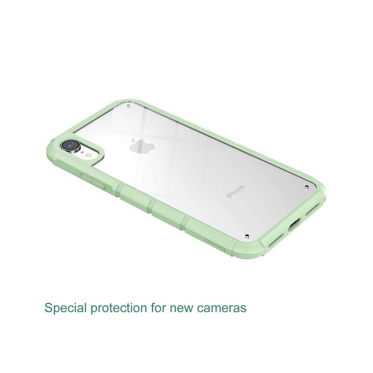 Baseus iPhone XR tok, Panzer, zöld (WIAPIPH61-TK06)