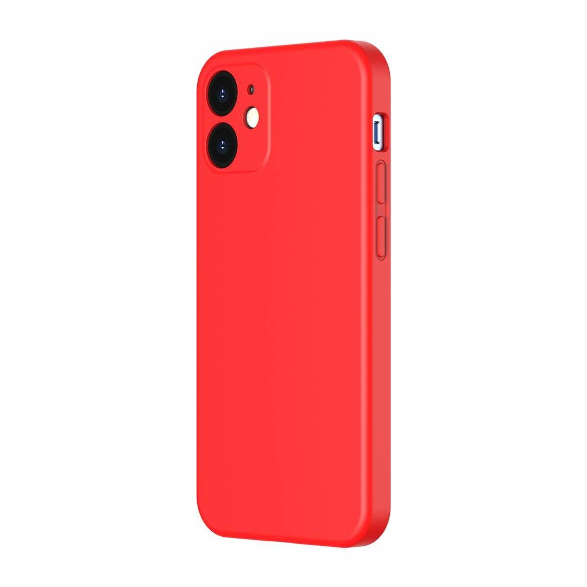 Baseus iPhone 12/12 Pro tok, Liquid Sicila Gel, piros (WIAPIPH61N-YT09)