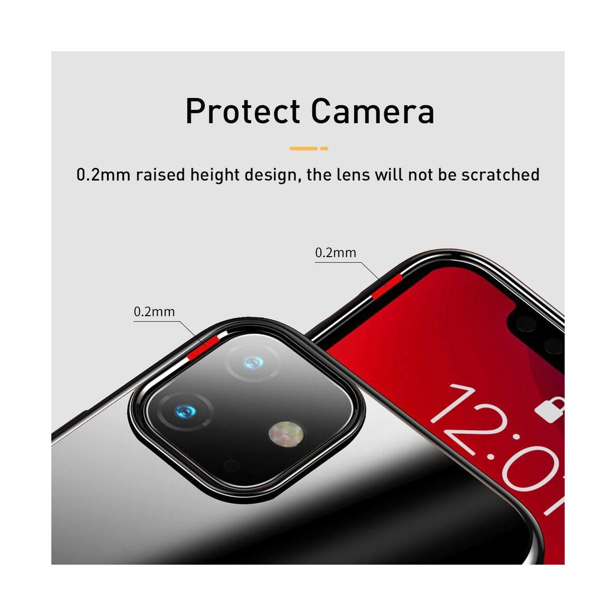 Baseus iPhone 11 tok, Glitter, fekete (WIAPIPH61S-DW01)