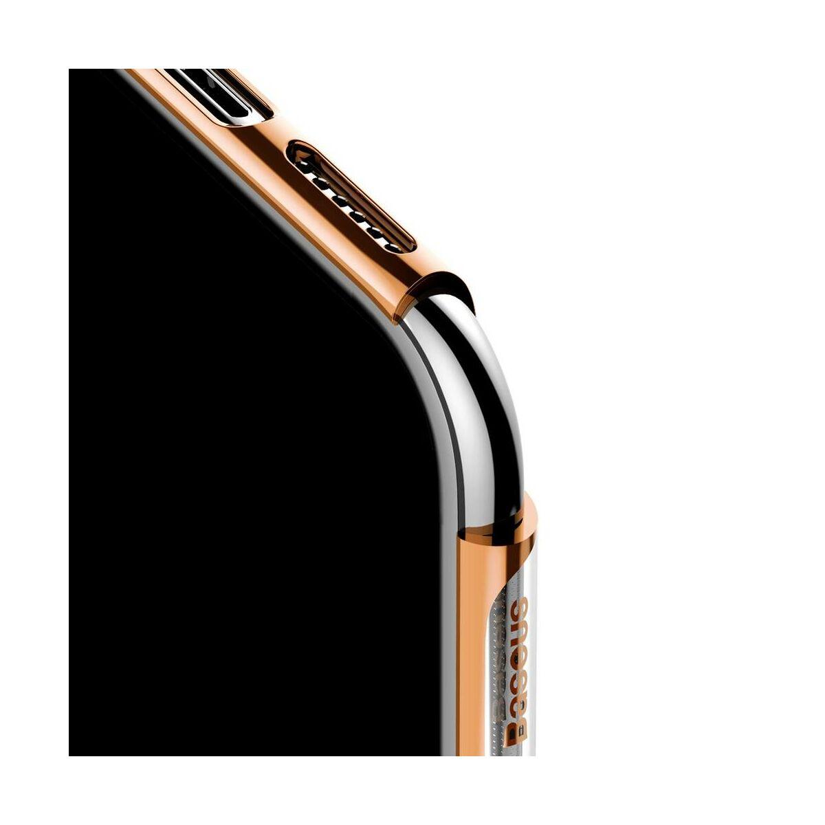 Baseus iPhone 11 tok, Glitter, arany (WIAPIPH61S-DW0V)