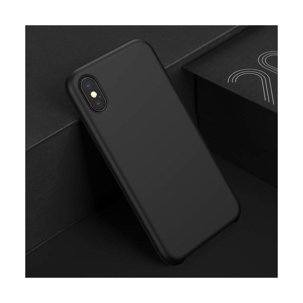 Baseus iPhone XS Max tok, Original LSR, fekete (WIAPIPH65-ASL01)