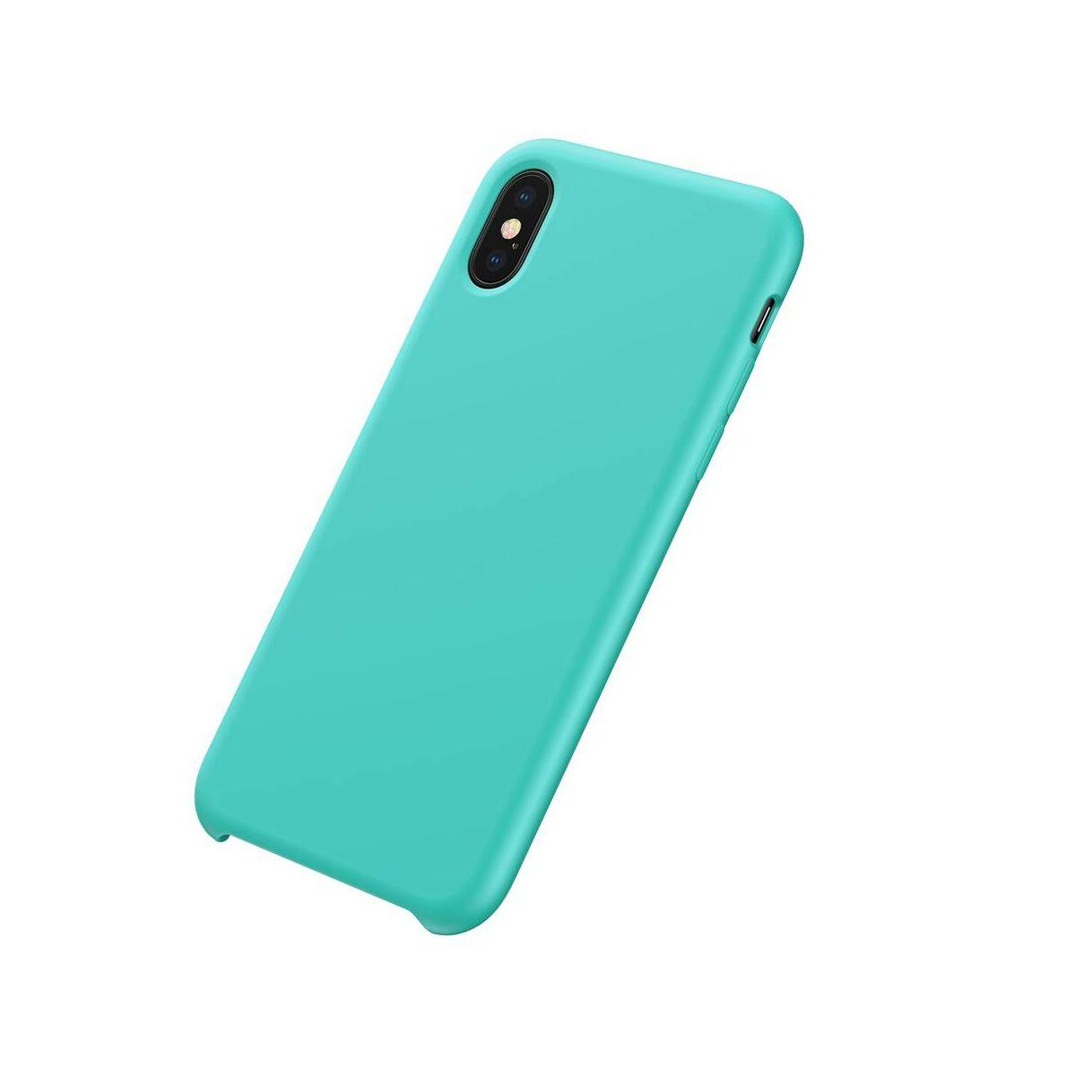Baseus iPhone XS Max tok, Original LSR, kék (WIAPIPH65-ASL03)