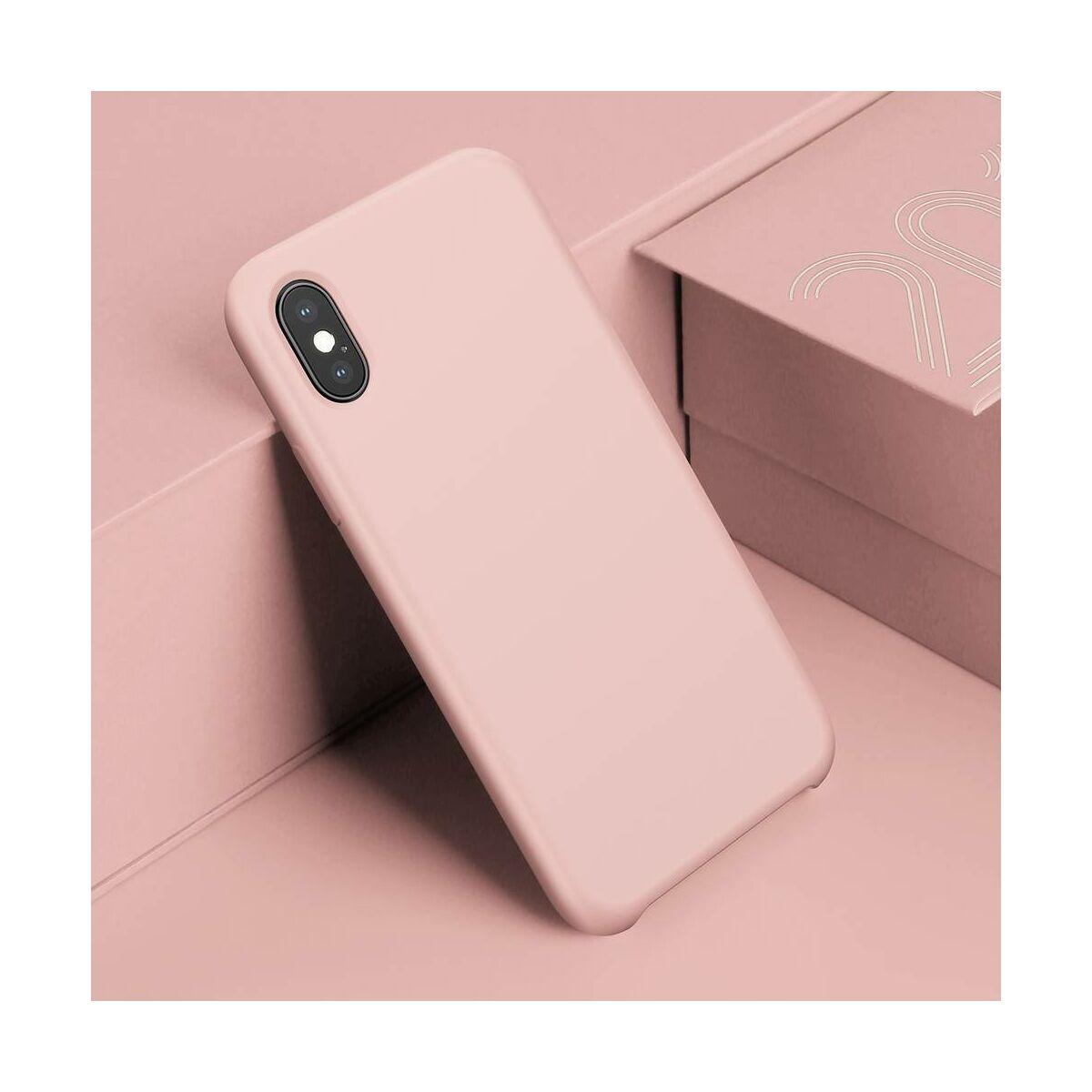 Baseus iPhone XS Max tok, Original LSR, rózsaszín (WIAPIPH65-ASL04)