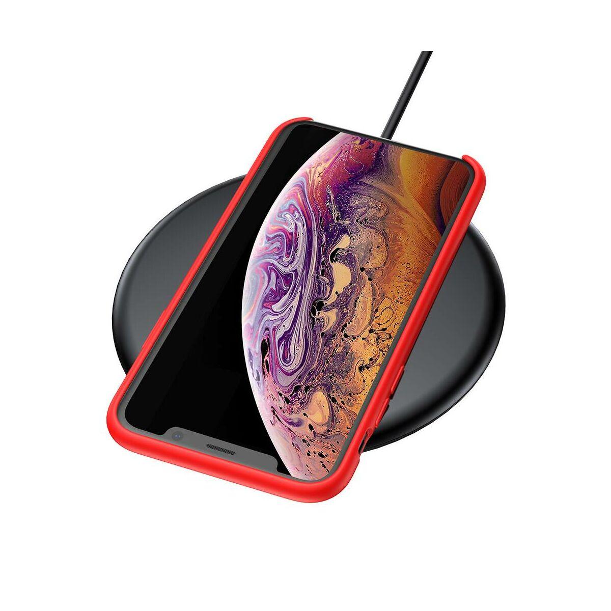 Baseus iPhone XS Max tok, Original LSR, piros (WIAPIPH65-ASL09)
