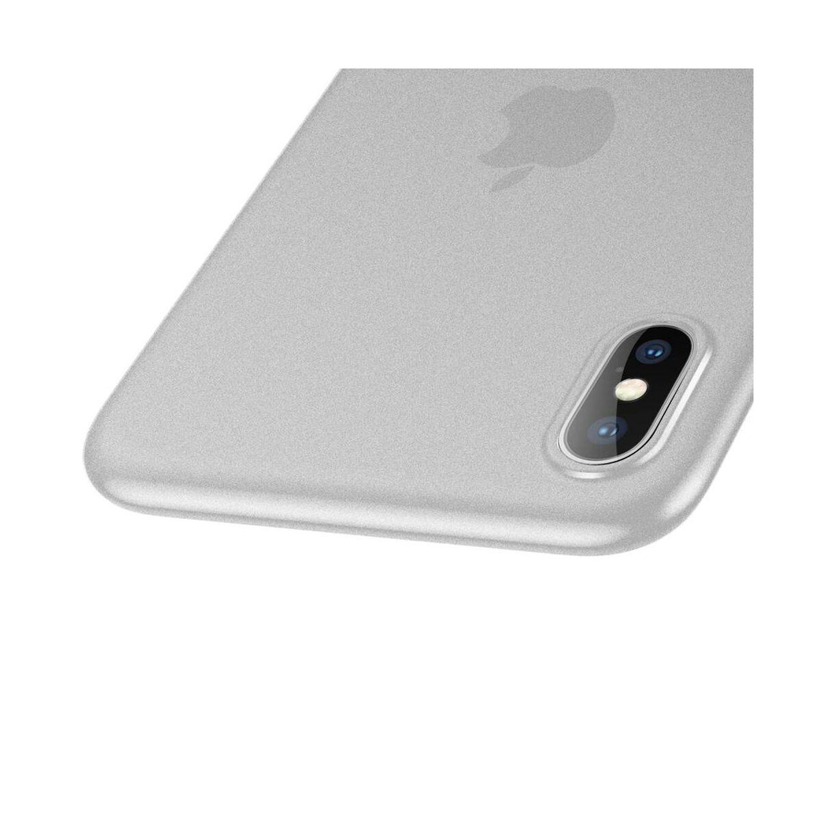Baseus iPhone XS Max tok, Wing, fehér (WIAPIPH65-E02)