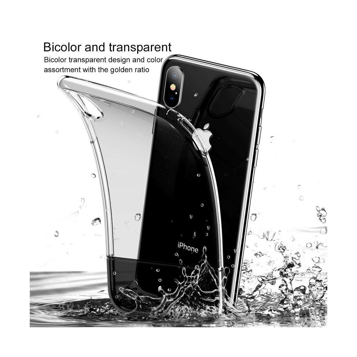 Baseus iPhone XS Max tok, Half to Half, arany (WIAPIPH65-RY0V)