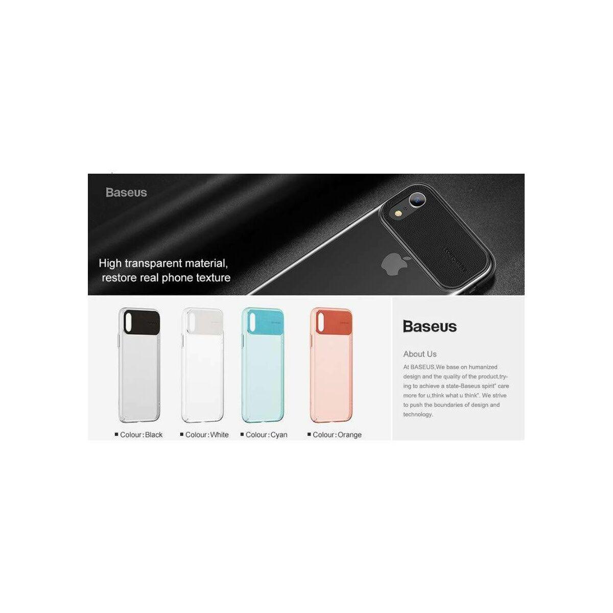 Baseus iPhone XS Max tok, Comfortable, narancssárga (WIAPIPH65-SS07)