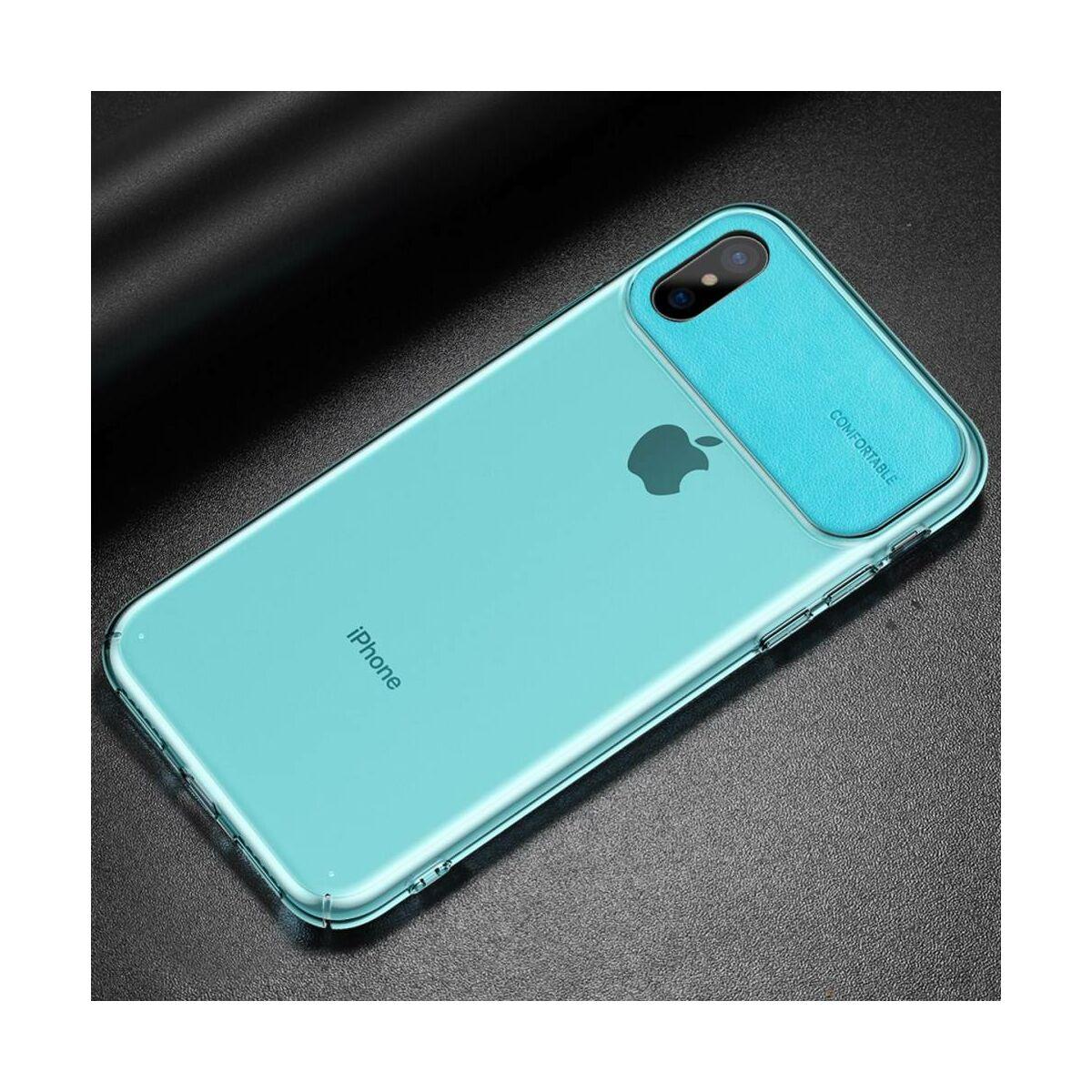 Baseus iPhone XS Max tok, Comfortable, cián (WIAPIPH65-SS13)
