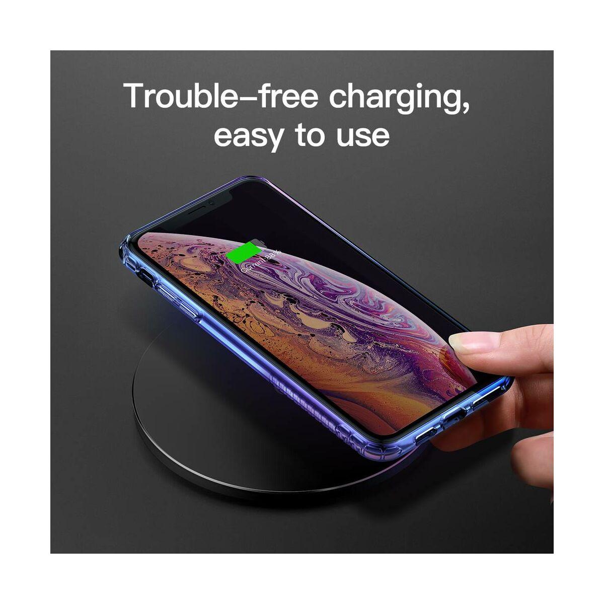 Baseus iPhone XS Max tok, Colorful Airbag, kék (WIAPIPH65-XC03)