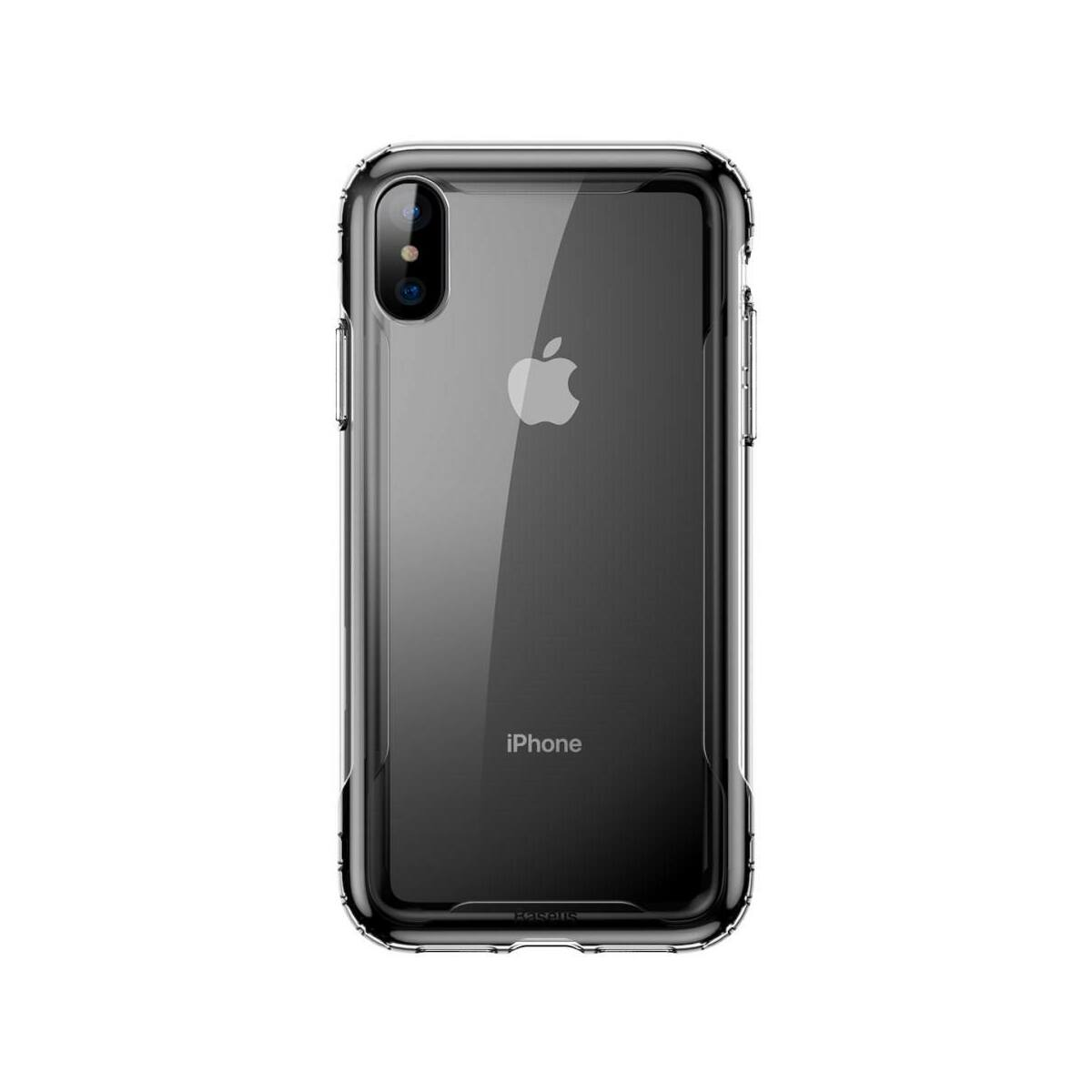Baseus iPhone XS Max tok, Armor, fekete (WIAPIPH65-YJ01)
