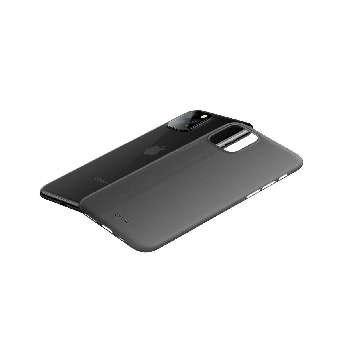 Baseus iPhone 11 Pro Max tok, Wing, fekete (WIAPIPH65S-01)