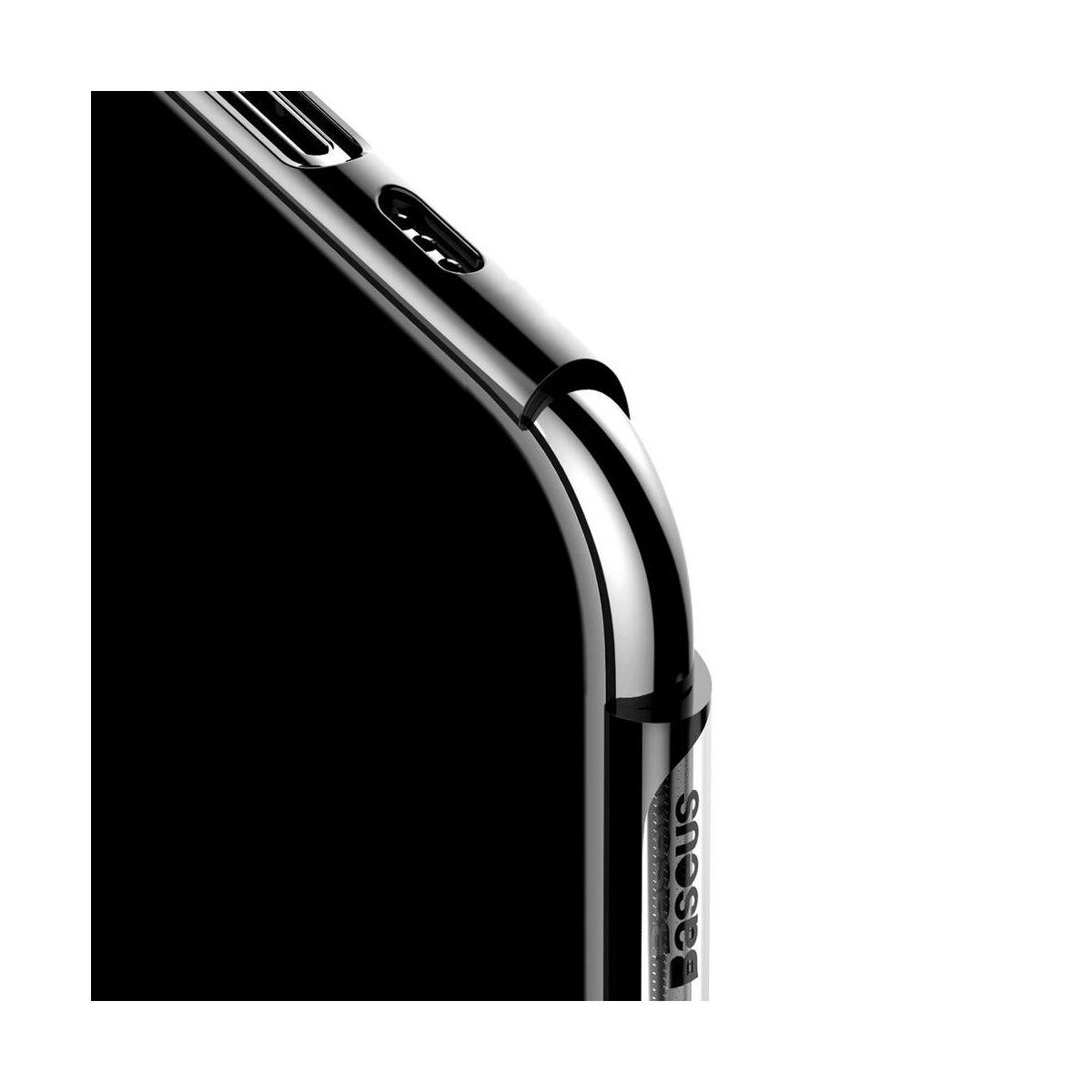 Baseus iPhone 11 Pro Max tok, Glitter, fekete (WIAPIPH65S-DW01)