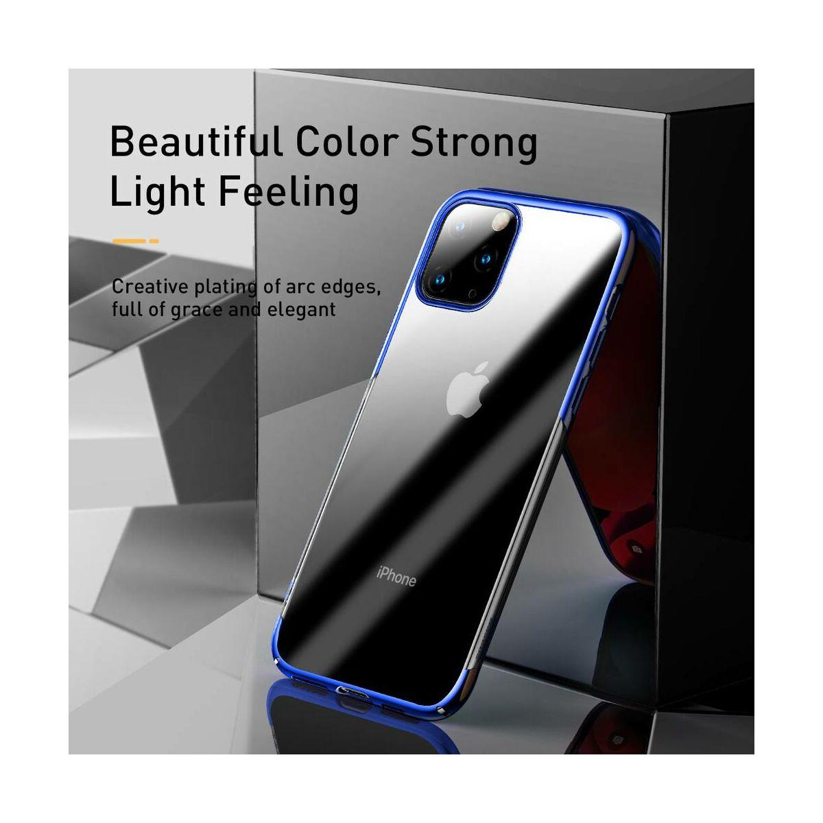Baseus iPhone 11 Pro Max tok, Glitter, kék (WIAPIPH65S-DW03)