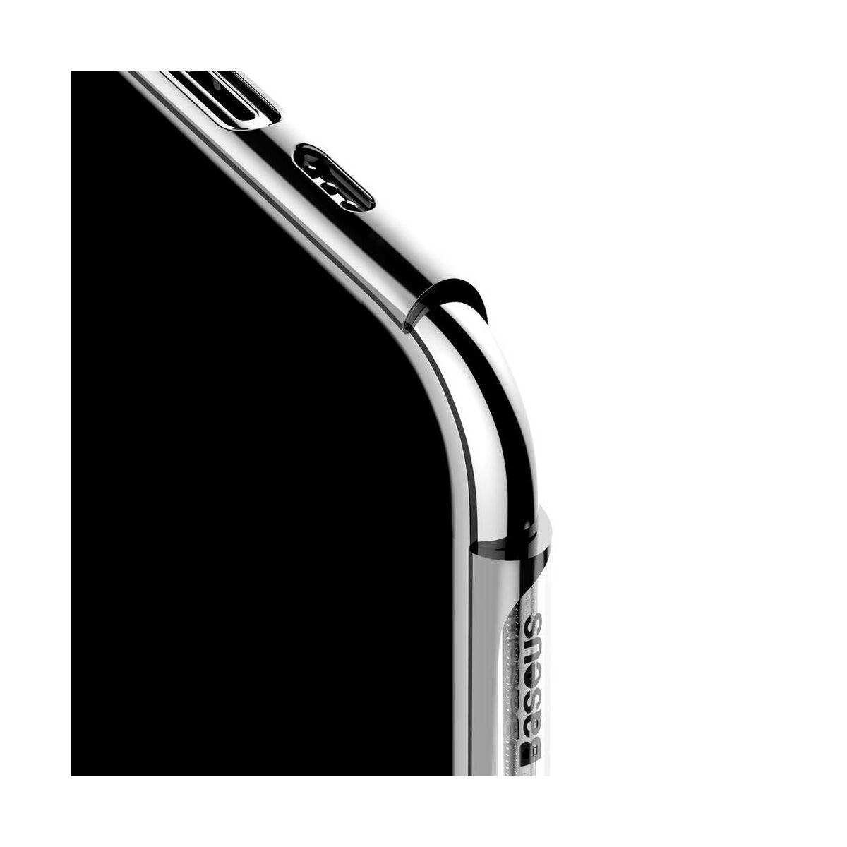 Baseus iPhone 11 Pro Max tok, Glitter, ezüst (WIAPIPH65S-DW0S)