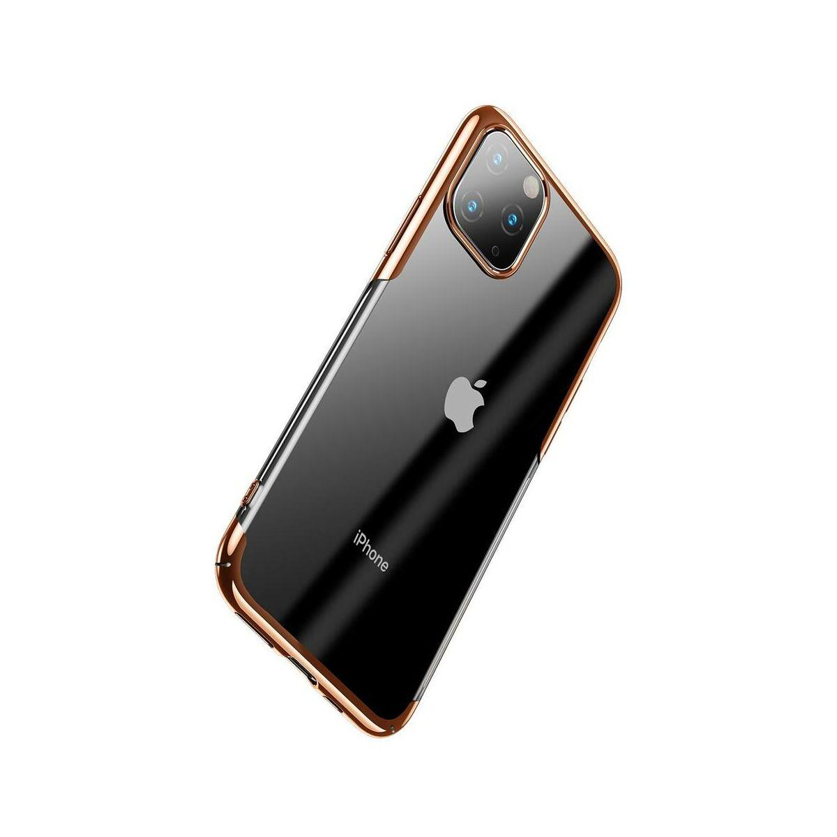Baseus iPhone 11 Pro Max tok, Glitter, arany (WIAPIPH65S-DW0V)