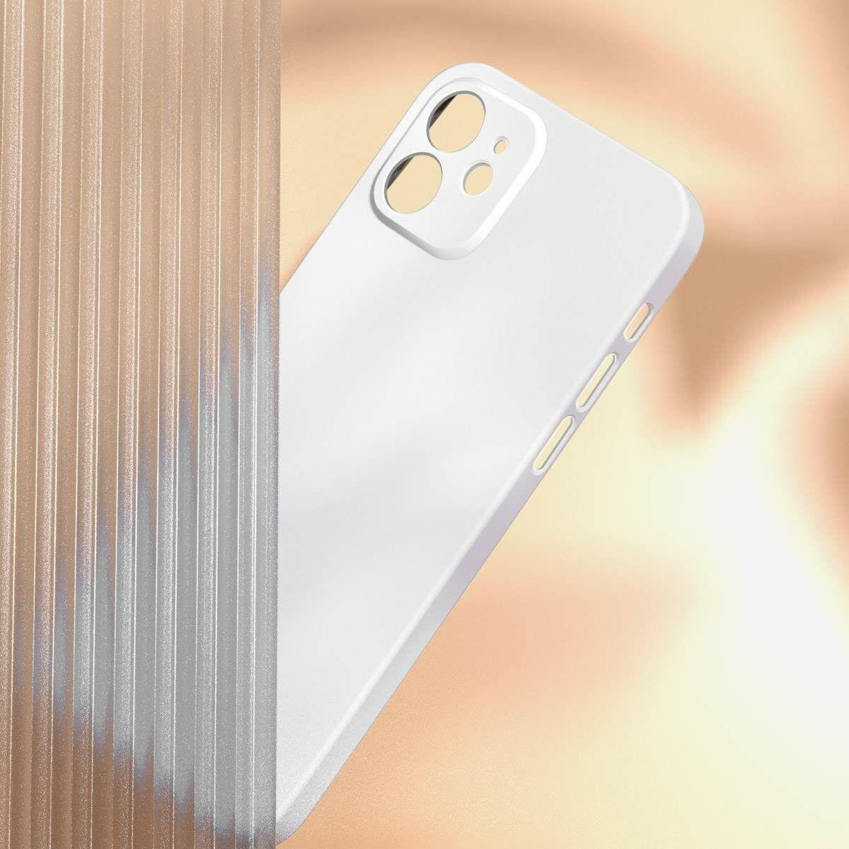 Baseus iPhone 12 Pro Max, Liquid Sillica Gel, fekete (WIAPIPH67N-YT01)