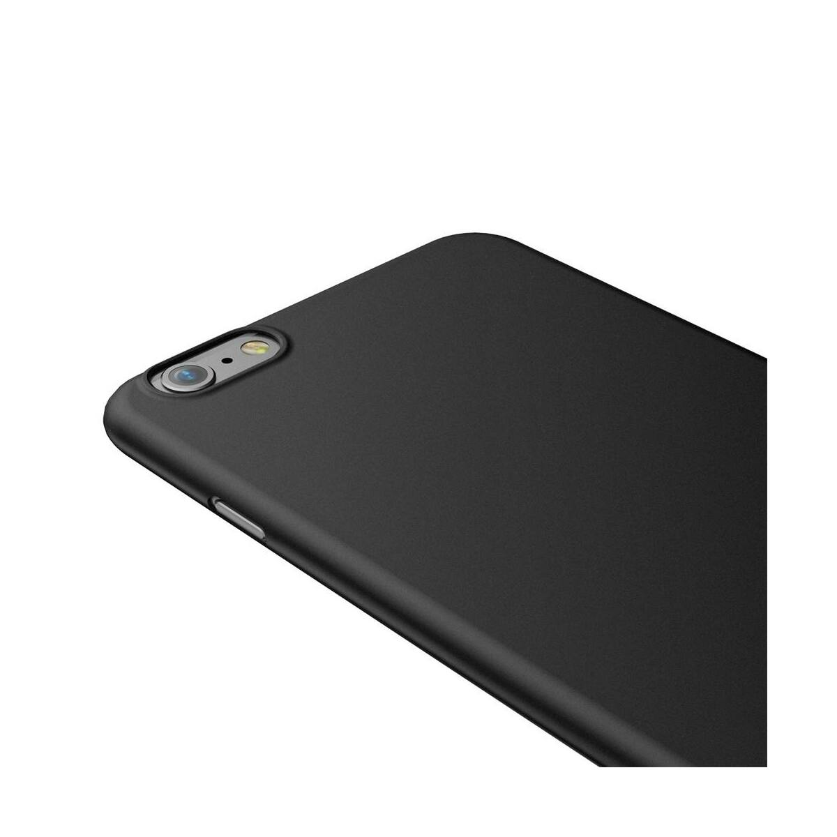 Baseus iPhone 6/6s tok, Wing, fekete (WIAPIPH6S-E1A)