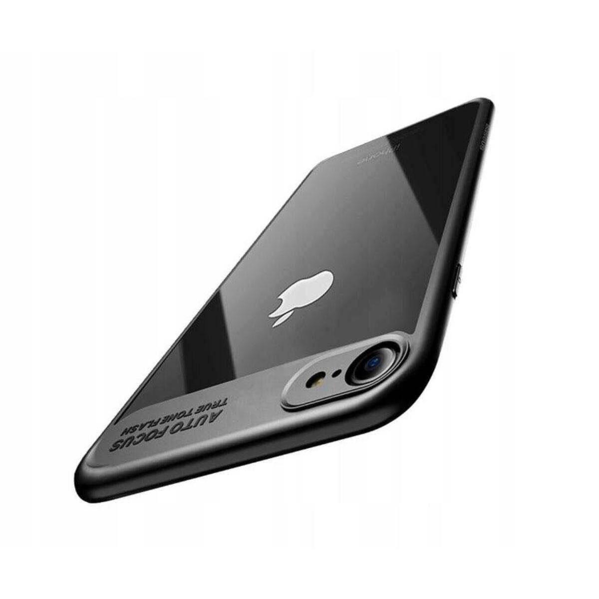 Baseus iPhone 8/7 tok, Sutok, Thin, fekete (WIAPIPH7-SB01)