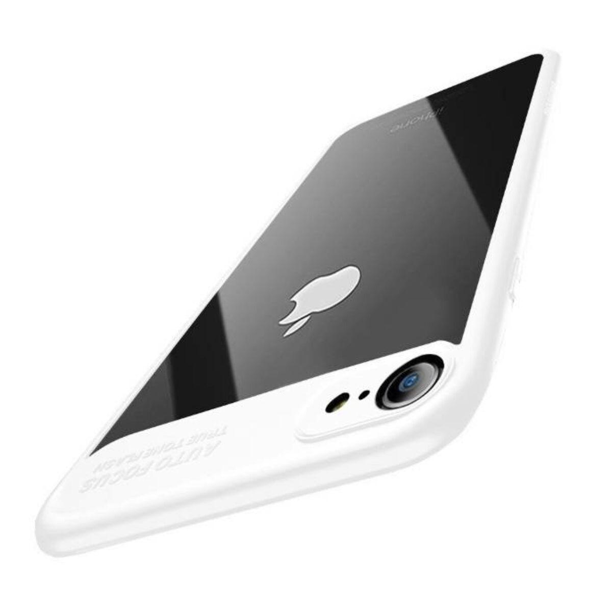 Baseus iPhone 8/7 tok, Sutok, Thin, fehér (WIAPIPH7-SB02)