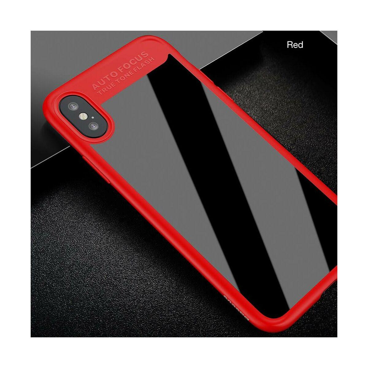 Baseus iPhone 8/7 tok, Sutok, Thin, piros (WIAPIPH7-SB09)