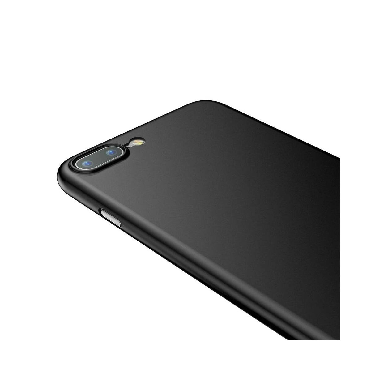 Baseus iPhone 8/7 Plus tok, Wing, fekete (WIAPIPH7P-E1A)