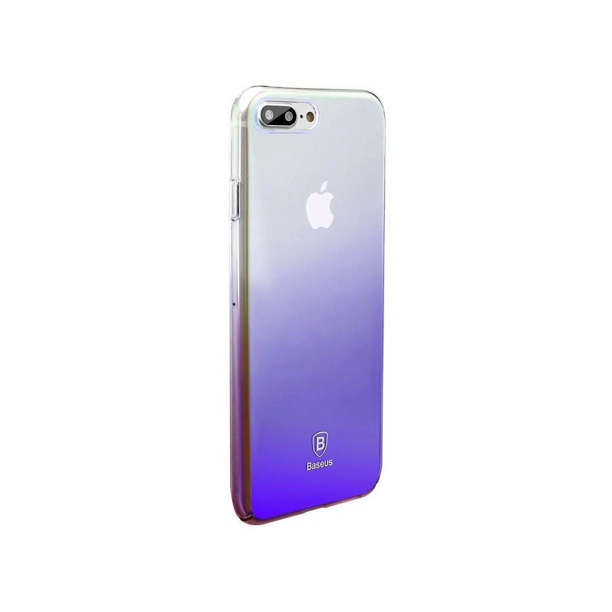 Baseus iPhone 8/7 Plus tok, Glaze, fekete (WIAPIPH7P-GC01)