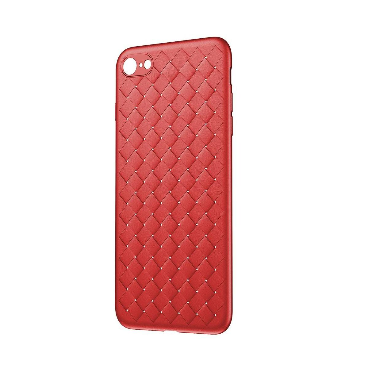Baseus iPhone 8/7 tok, BV Weaving, piros (WIAPIPH8N-BV09)