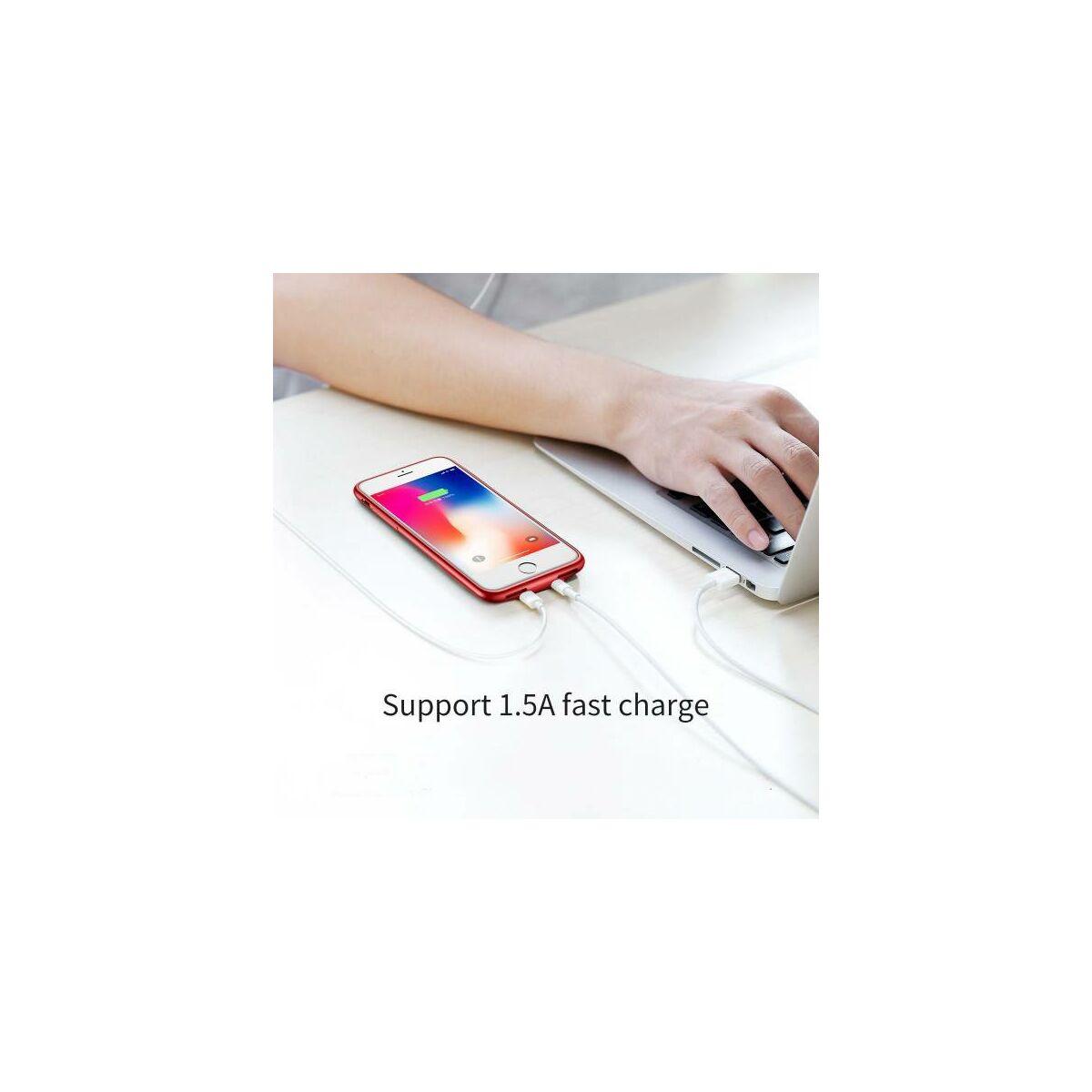 Baseus iPhone 8/7 Audio tok, piros (WIAPIPH8N-VI09)