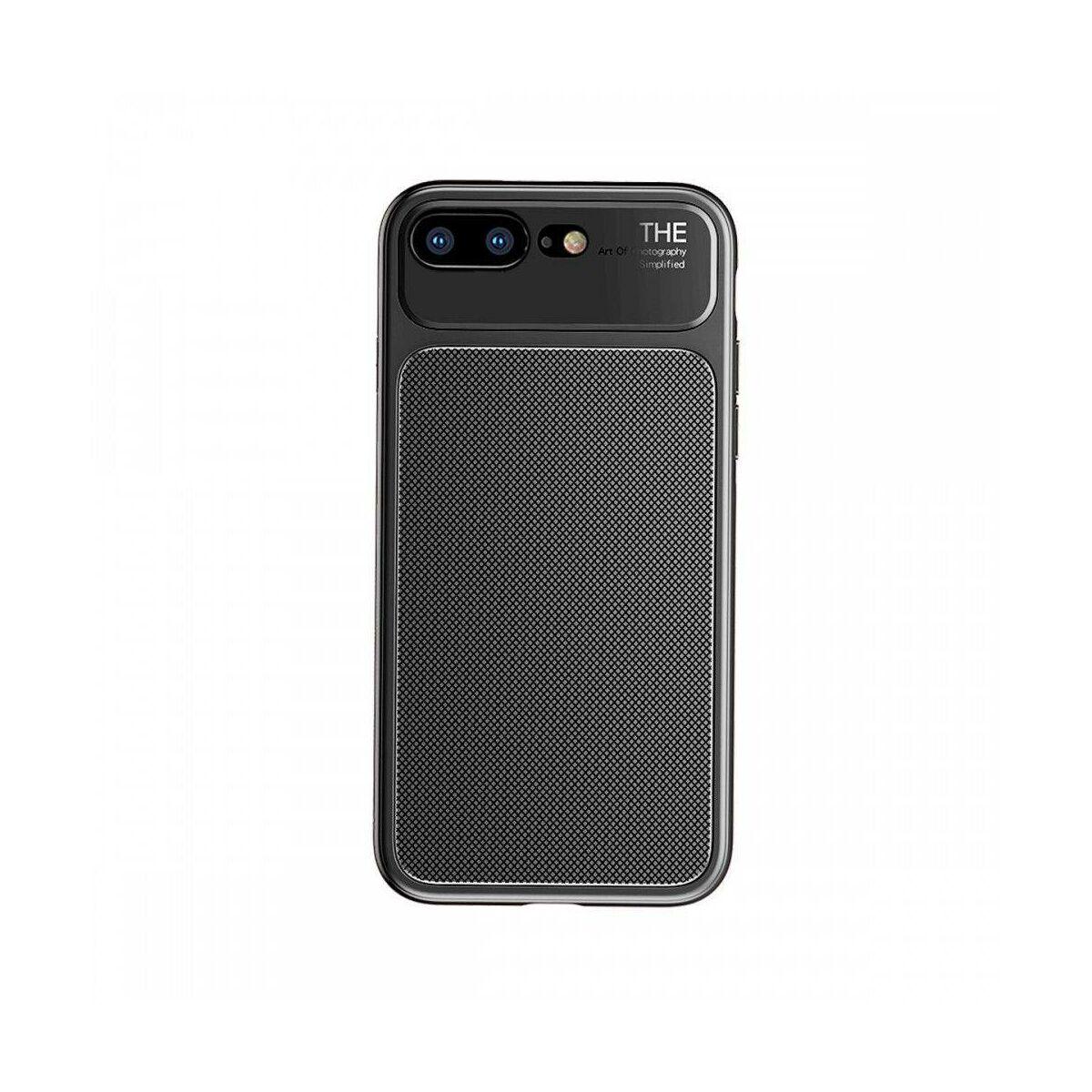 Baseus iPhone 8/7 Plus tok, Knight, fekete (WIAPIPH8P-JU01)