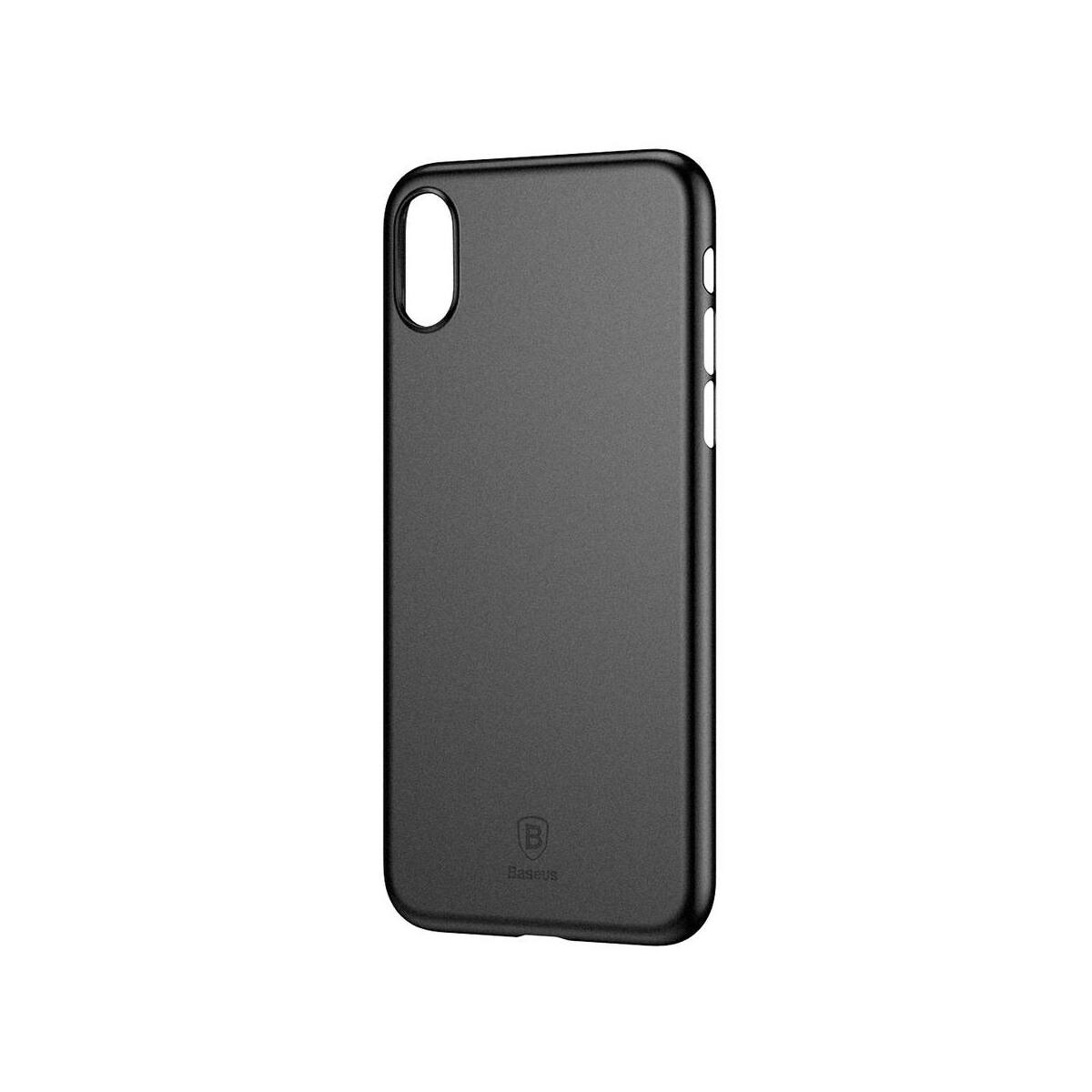 Baseus iPhone X/XS tok, Wing, fekete (WIAPIPHX-A01)