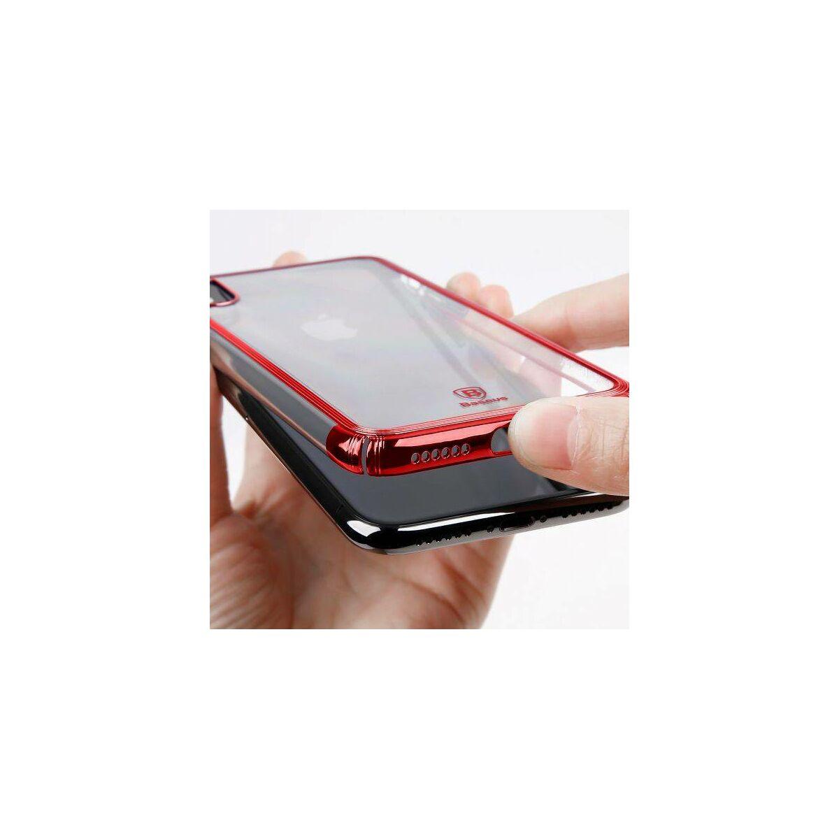 Baseus iPhone X/XS tok, Minju, piros (WIAPIPHX-MJ09)