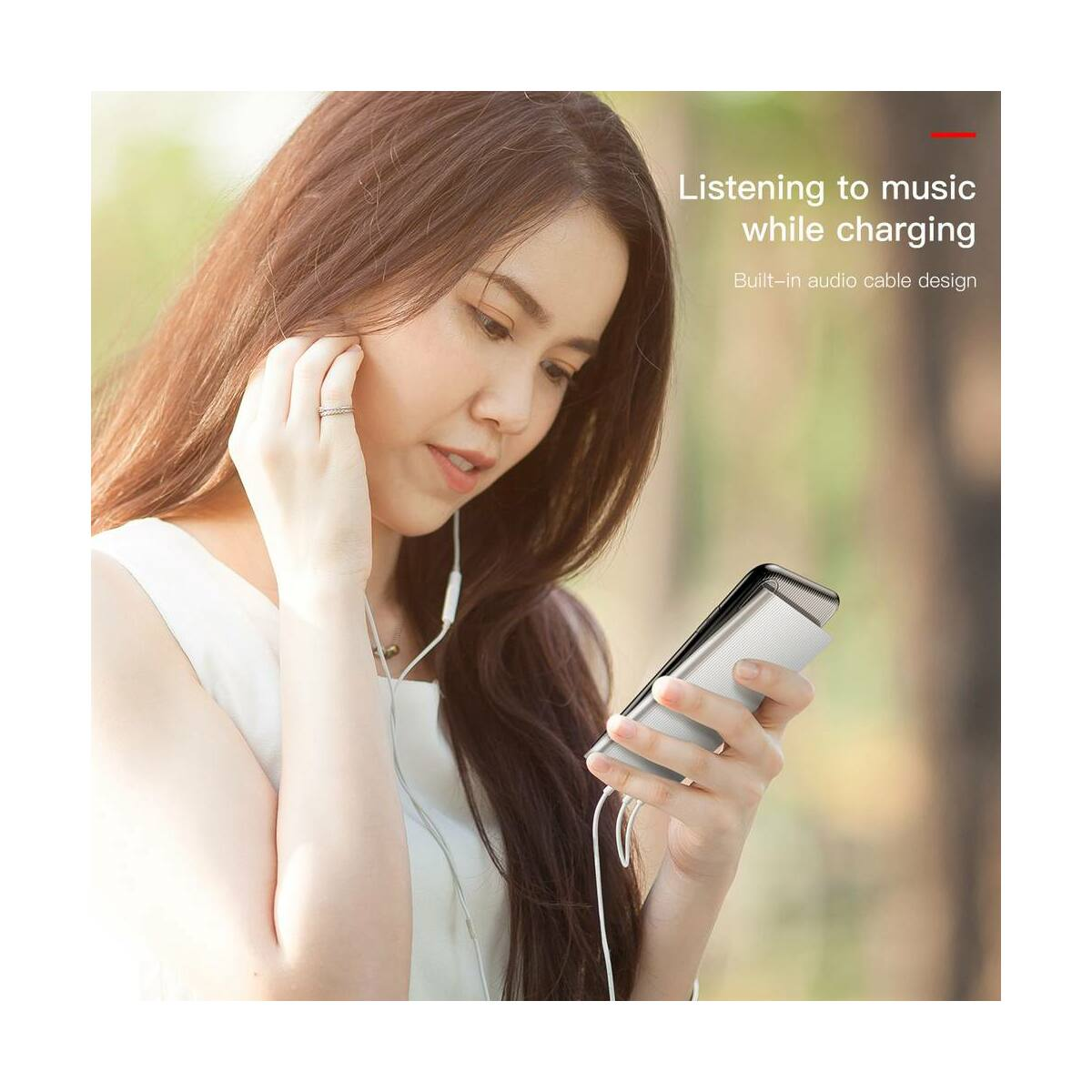 Baseus iPhone X/XS Audio tok, fekete (WIAPIPHX-VI01)